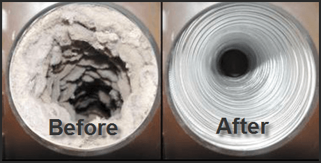 dryer-vent-cleaning-before-after